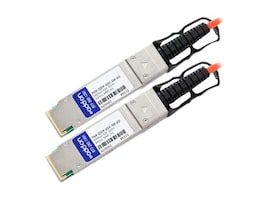 Add On Computer Peripherals PAN-QSFP-AOC-3M-AO Main Image from Right-angle
