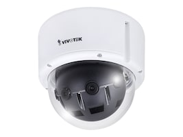4Xem 12MP Outdoor Network Panoramic Dome Camera with 6mm, MS8392-EV, 34790207, Cameras - Security