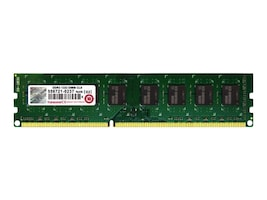 Transcend 4GB PC3-10600 240-pin DDR3 SDRAM UDIMM, TS512MLK64V3H, 31236690, Memory