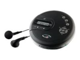 GPX Portable CD Player, PC332B, 33170516, Portable Stereos