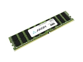 Axiom Dell Compatible 128GB PC4-23466L 288-pin DDR4 SDRAM LRDIMM, AA579534-AX, 37789375, Memory