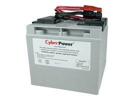 CyberPower Replacement Battery Pack 12V 17Ah, Pre-assembled for PR1500LCD UPS, RB12170X2A, 22248402, Batteries - UPS