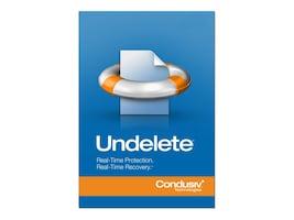 Condusiv Corp. Undelete 10.0 Client 10-pack 2-year Maintenance, 191363, 34129662, Software - Network Management