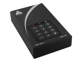 Apricorn 8TB Aegis Padlock DT USB 3.0 FIPS Desktop Hard Drive, ADT-3PL256F-8000, 31244761, Hard Drives - External