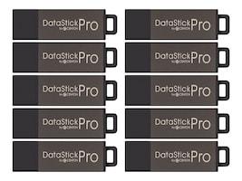Centon Electronics 32GB Centon DataStick Data Encryption USB 2.0 Flash Drives - Gray (10-pack), DSP32GB10PK, 10539595, Flash Drives