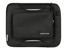 Max Cases SLIM SLEEVE WITH ZIPPER POCKET CASEID WINDOW YKK PROTECTIVE, MC-SSP-11-GRY, 36445554, Carrying Cases - Other