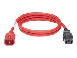 Panduit Locking Power Cord, IEC C14-to-IEC C13, 3ft, LPCA02, 36356674, Power Cords