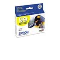 Epson Yellow #99 Ink Cartridge, T099420, 9000103, Ink Cartridges & Ink Refill Kits
