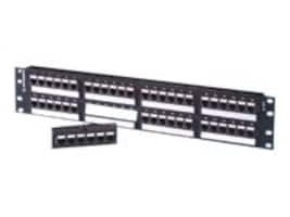 Ortronics TECHCHOICE CAT6 PATCH PANEL, 48 PORT, SP6U48, 33743513, Patch Panels