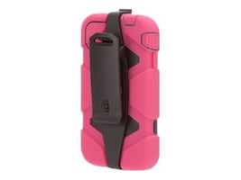 Griffin Survivor Rugged case for iPhone 4S Pink Black, GB35356-2, 15316420, Carrying Cases - Phones/PDAs