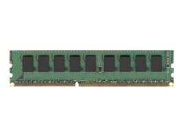 Dataram 4GB PC3-12800 DDR3 SDRAM UDIMM, DVM16E1L8/4G, 30832676, Memory