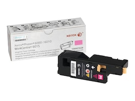 Xerox Magenta Standard Capacity Toner Cartridge for Phaser 6000 & 6010, 106R01628, 12487637, Toner and Imaging Components
