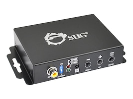 Siig VGA & Audio to HDMI Converter Scaler, CE-H21Y11-S1, 16940697, Scan Converters