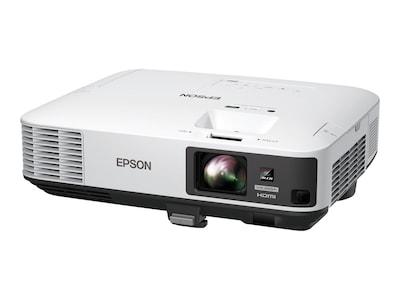 Epson PowerLite 2255U Wireless Full HD WUXGA 3LCD Projector, 5000 Lumens, White, V11H815020, 33566191, Projectors