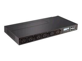 Avocent PM3000 208V 3-phase 40A 1U Horizontal IEC 309 60A Input (6) C19 Outlets, PM3005H-404, 9680604, Power Distribution Units