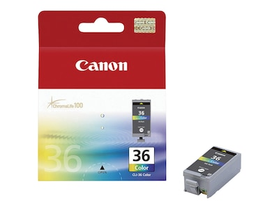 Canon Color CLI-36 Ink Cartridge for PIXMA mini260, 1511B002, 7221421, Ink Cartridges & Ink Refill Kits - OEM