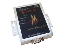 Comtrol DeviceMaster RTS 1-Port VDC DB9 RoHS Serial to Ethernet, 5-30DC Volt, 99440-4, 7686851, Remote Access Servers