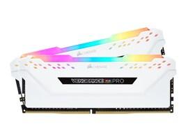 Corsair 16GB PC4-25600 288-pin DDR4 SDRAM DIMM Kit, CMW16GX4M2C3200C16W, 37546621, Memory