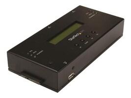 StarTech.com 1:1 Standalone Hard Drive Duplicator & Eraser for 2.5 3.5 SATA & SAS Drives, SATSASDUPE11, 32981384, Hard Drive Duplicators