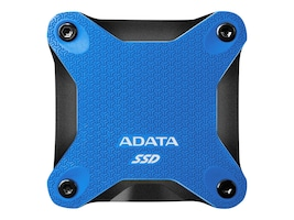 A-Data 480GB SD600Q External Solid State Drive - Blue, ASD600Q-480GU31-CBL, 36875976, Solid State Drives - External