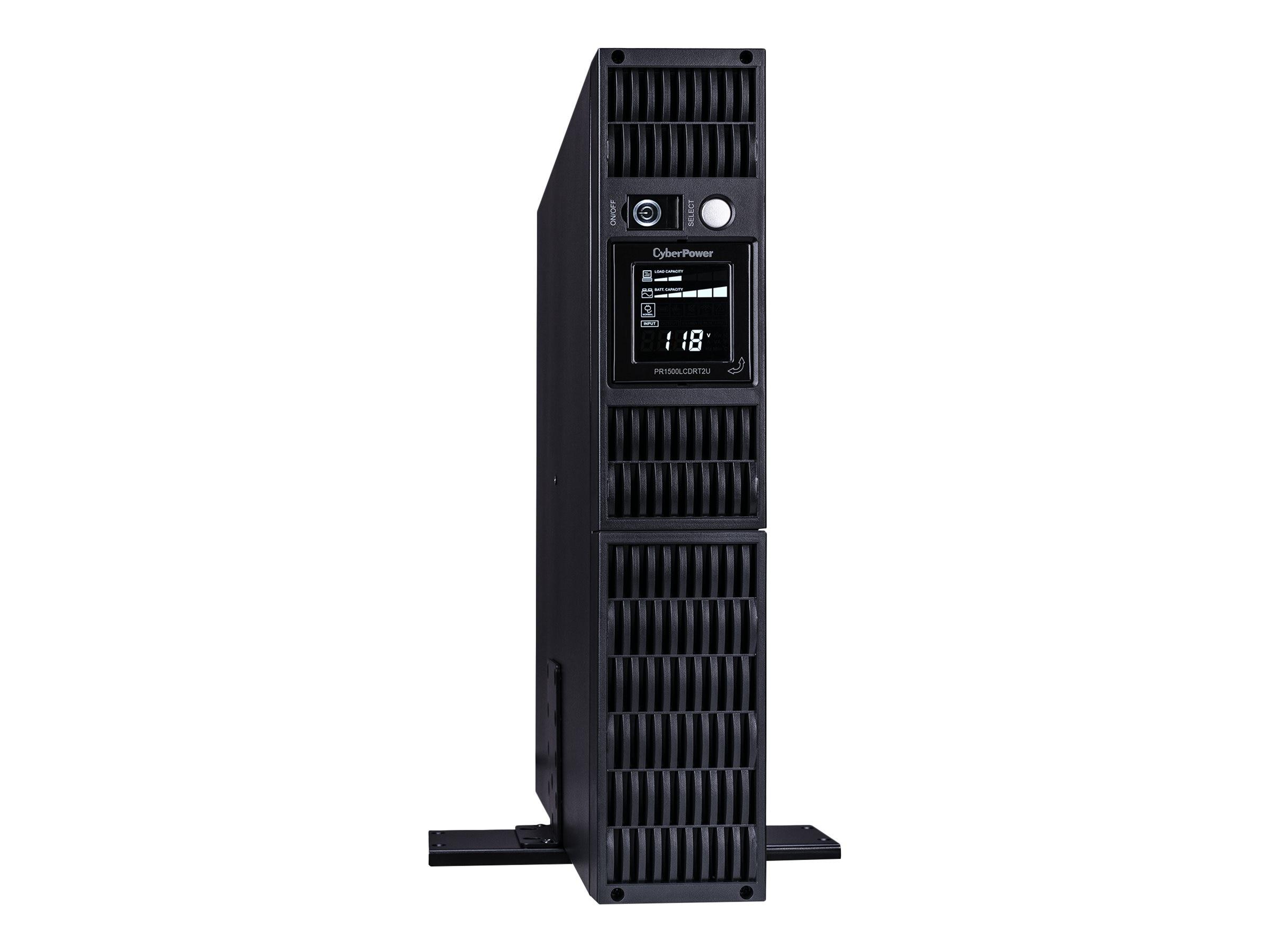 CyberPower 1500VA 1000W Smart App Sinewave LCD UPS 2U RM Tower AVR