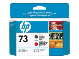 HP 73 Chromatic Red & Matte Black Printhead, CD949A, 11649219, Printer Accessories