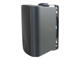 C2G Wall Mount Speaker, 4in, Black, 39906, 13917387, Speakers - Audio