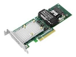 Adaptec 3162-8I 12Gbps PCIe Gen3 SAS SATA SmartRAID Adapter, 2299800-R, 35861409, RAID Controllers