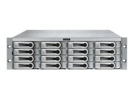 Promise VTRAK J-Class 3U 16-Bay Dual Controller Storage w  (16) 2TB SATA Hard Drives, H1144VC/A, 12877977, SAN Servers & Arrays