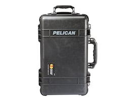 Pelican 1510TP CARRY ON CASE WITH TREK CASEPAK DIVIDER SYST BLACK, 015100-0050-110, 37988569, Carrying Cases - Other