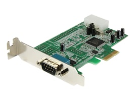 StarTech.com 1 Port Low Profile Native RS232 PCI Express Serial Card with 16550 UART, PEX1S553LP, 11955873, Controller Cards & I/O Boards