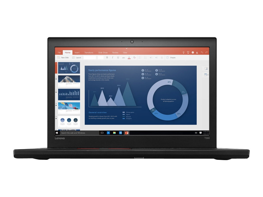 Lenovo TopSeller ThinkPad T560 2.4GHz Core i5 15.6in display, 20FH001RUS, 31220401, Notebooks