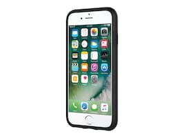 Incipio DualPro Dual Layer Case for iPhone 7, Black Black, IPH-1465-BLK, 33013641, Carrying Cases - Phones/PDAs
