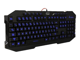 Adesso EasyTouch 3 Colors Illuminated Gaming Keyboard, AKB-135EB, 17411105, Keyboards & Keypads
