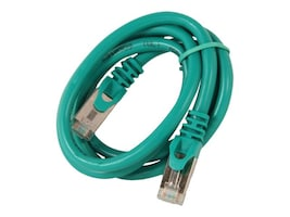 Rosewill Cat6a Shielded SSTP Network Cable, Green, 3ft, RCNC-12026, 21565975, Cables