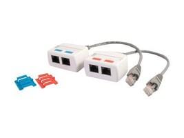 C2G RJ-45 Network Splitter Combiner Kit, 37049, 14455575, Network Adapters & NICs