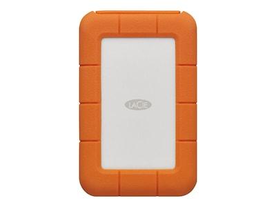 Seagate 2TB Lacie Rugged USB 3.1 Type C Portable Hard Drive, STFR2000800, 34323676, Hard Drives - External