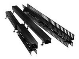 Leviton cable Mgnt 80 VERTICAL FRONT, 4980L-VFO, 37590219, Rack Cable Management