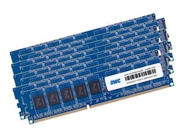 Other World 64GB PC3-10600 240-pin DDR3 SDRAM UDIMM Kit for 2009-2012 Mac Pro, OWC1333D3W8M64K, 35541093, Memory