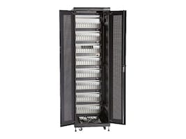 Black Box Mass Charging Cabinet w Cable Management, 96-Device, MSC-96-TCN, 33247632, Charging Stations