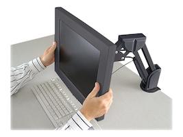 Kensington LCD Desk Mount Monitor Arm, Black, 60106, 430525, Stands & Mounts - AV
