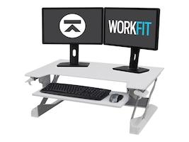 Ergotron WorkFit-TL Sit-Stand Desktop Workstation, White, 33-406-062, 30657062, Furniture - Miscellaneous
