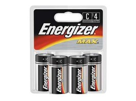 Energizer Battery, MAX C-size (4-pack), E93BP-4, 9554270, Batteries - Other