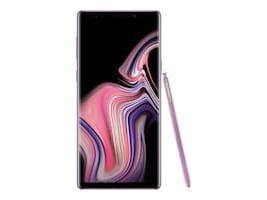 Samsung Galaxy Note9 Smartphone, 128GB (Unlocked) - Lavender Purple, SM-N960UZPAXAA, 35977735, Cell Phones