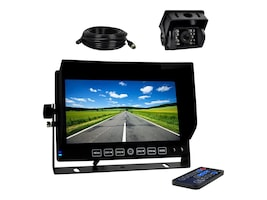 Pyle DVR Video Camera HD Recording Driving System 7 Display Monitor, PLCMTRDVR41, 33114637, Locks & Security Hardware