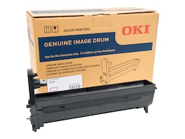 Oki Magenta Image Drum Kit for C610 Series Printers, 44315102, 11523587, Printer Accessories