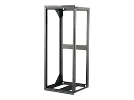 C2G Hinged Wall Mount Open Frame Rack, 25U x 18d, 75lb Capacity, Black, 14619, 30920836, Racks & Cabinets