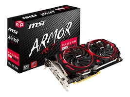 Microstar Radeon RX 570 Armor MK2 Overclocked Graphics Card, 8GB GDDR5, R570AR28C, 35152127, Graphics/Video Accelerators