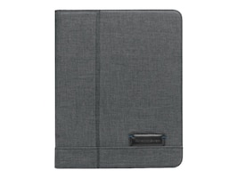 Brenthaven Collins Folio for iPad 2-4, Charcoal, 1903, 32029844, Carrying Cases - Tablets & eReaders