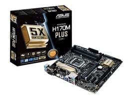 Asus Motherboard, H170M PLUS CSM Skylake, H170M-PLUS/CSM, 27125073, Motherboards